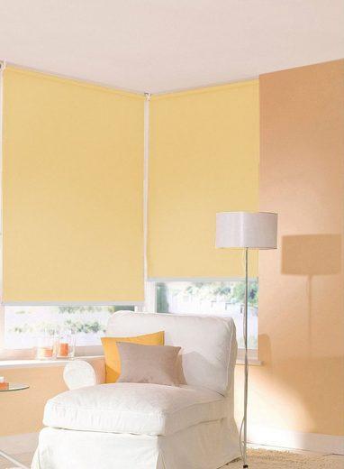 Seitenzugrollo nach Maß »Premiumstyle Uni«, sunlines, Lichtschutz, freihängend