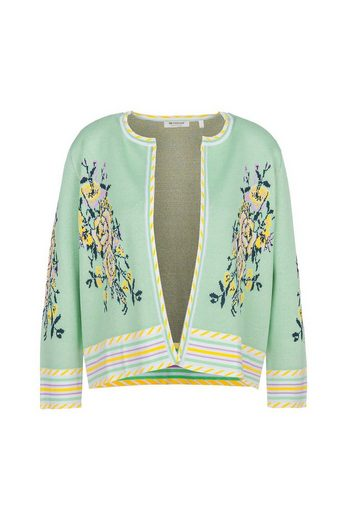 Rich & Royal Jacquardstrickjacke »Cardigan jacquard«