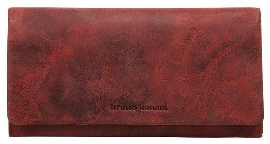 Bruno Banani Geldbörse »Leder« (1-tlg), 2fach klappbar