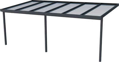 GUTTA Terrassendach »Premium«, BxT: 611x306 cm, Dach Acryl klar