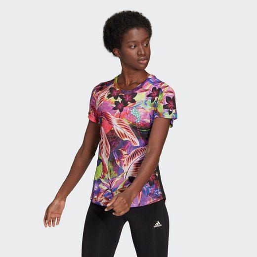 adidas Performance T-Shirt »Own The Run Floral T-Shirt«