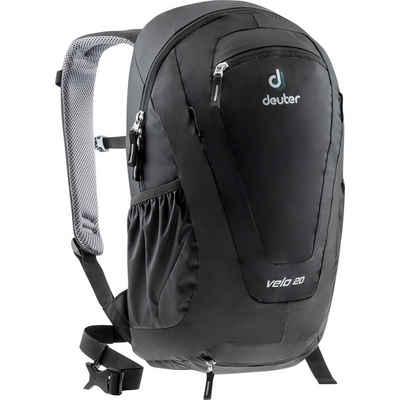 deuter Fahrradrucksack »Velo 20«, Brustgurt,Kontaktrücken,Trinksystemvorbereitung,integrierte Regenhülle