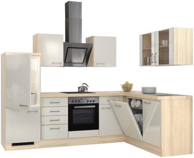 Flex-Well Winkelküche  mit E-Geräten  Stellbreite 280 x 170 cm   Küche und Esszimmer > Küchen   Flex-Well