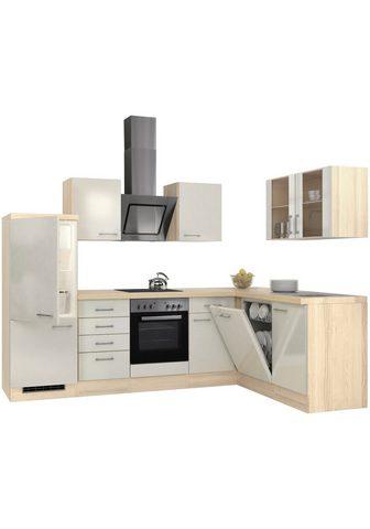 Flex-Well Winkelküche su E-Geräten Stellbreite 2...