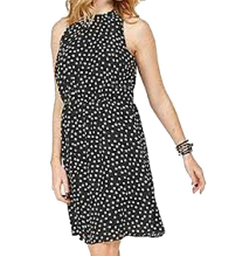 JACQUELINE de YONG Minikleid »JACQUELINE de YONG Chili Kleid cooles Damen Party-Kleid mit Tupfenmuster Cord-Kleid Schwarz«