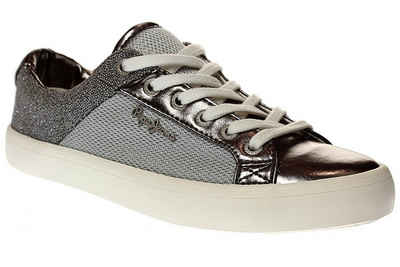 Pepe Jeans »pls30467 clinton mesh silver« Sneaker