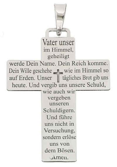 Firetti Kreuzanhänger »Vater unser«