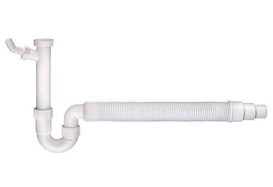 """CORNAT Set: Geruchsverschluss »Flexibler Spültischgeruchsverschluss«, mit 1 1/2"""" Anschluss"""