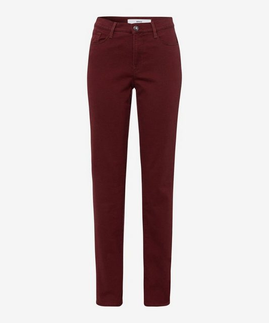 Hosen - Brax 5 Pocket Jeans »Style Carola« › rot  - Onlineshop OTTO