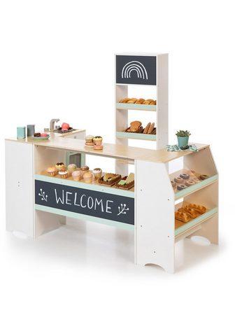 MUSTERKIND ® Kaufladen »Avena weiß/natur/mint«