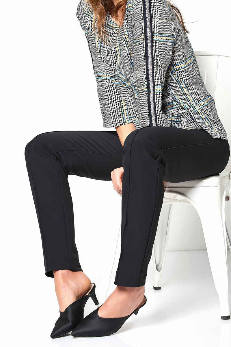 TONI Bundfaltenhose »Alessa« aus knitterfreiem Techno-Stretch
