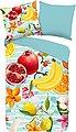 Wendebettwäsche »Fruities«, good morning, mit Früchten, Bild 1