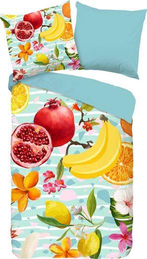 Wendebettwäsche »Fruities«, good morning, mit Früchten