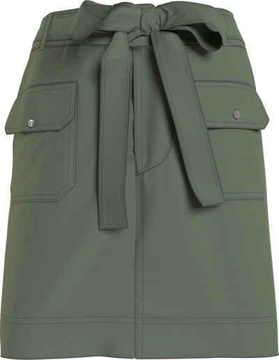 Tommy Jeans Cargorock »TJW UTILITY MINI SKIRT« mit großen Cargo-Taschen & Tommy Jeans Logo-Badge