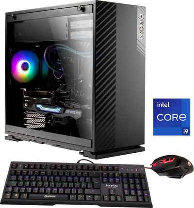 Hyrican Alpha 6676 Gaming-PC (Intel® Core i9 11900KF, RTX 3080 Ti, 32 GB RAM, 3000 GB SSD, Wasserkühlung, Gaming-Maus und Tastatur mit RGB-Beleuchtung, WLAN: Intel® CNVI interface 802.11, Bluetooth 5.1, LAN: 2.5 Gbit/1 Gbit/100 Mbit on Board)