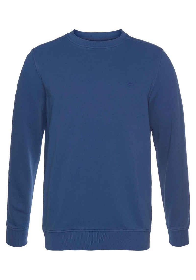 FYNCH-HATTON Sweatshirt mit Rundhalsausschnitt
