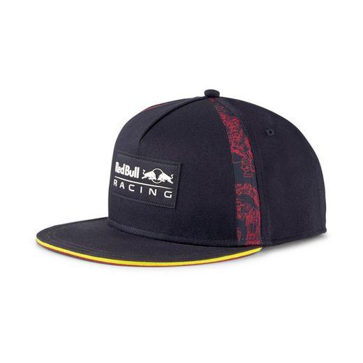 PUMA Flex Cap »Red Bull Racing Lifestyle Cap mit flachem Schirm«