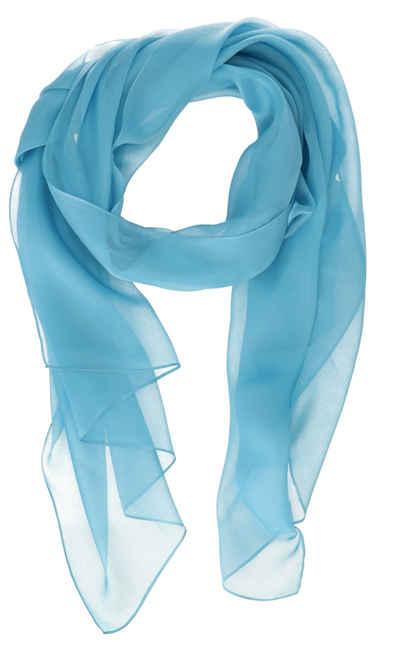 halsüberkopf Accessoires Schal »Schal aus reiner Seide 65x180 cm« ein wunderschöner Sommerschal