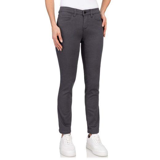 wonderjeans Stretch-Jeans »Regular« Hochelastische Qualität mit perfektem Sitz, leichter Push-Up Effekt, Elastischer Denim, Gerader Beinverlauf