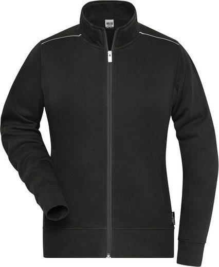 James & Nicholson Hoodie »Arbeitsjacke Workwear Sweatjacke FaS50893«