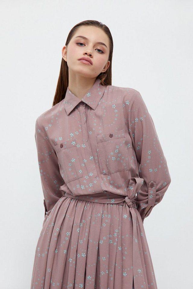finn flare -  Jerseykleid mit ausgestelltem Rockteil