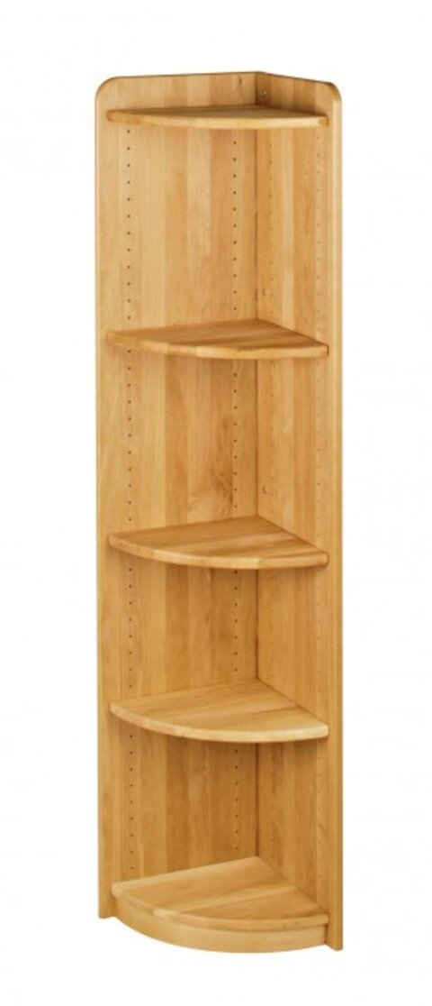 BioKinder - Das gesunde Kinderzimmer Eckregal »Lara«, Standregal 160 cm mit 3 Einlegeböden