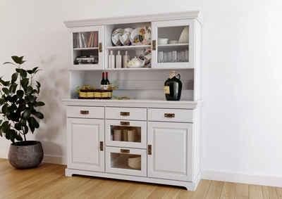 Home affaire Buffet »Ruegen« aus Massivholz, im Landhausstil