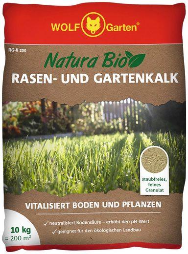 WOLF GARTEN Rasenkalk »Natura Bio«, 10 kg