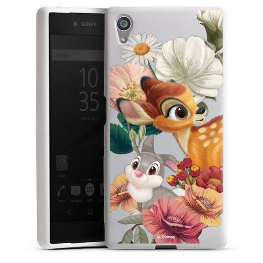 DeinDesign Handyhülle »Bambi, Klopfer transparent« Sony Xperia Z5, Hülle Bambi Klopfer Disney