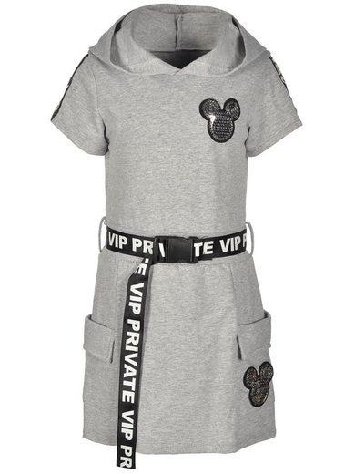 KMISSO Sweatkleid »Mädchen Kleid mit Kapuze« (1-tlg) bequem zu tragen