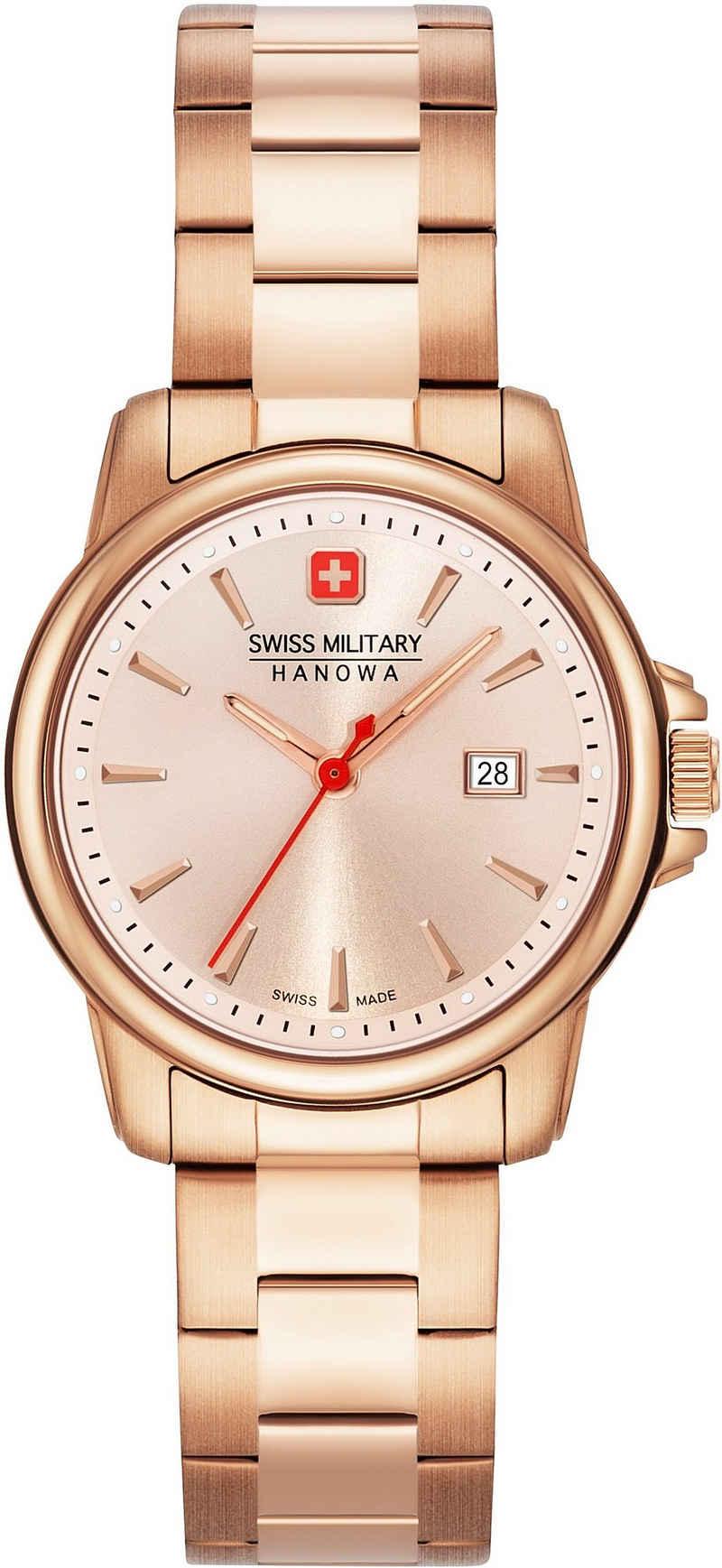 Swiss Military Hanowa Schweizer Uhr »SWISS RECRUIT LADY II, 06-7230.7.09.010«