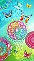 hip Strandtuch »Mystic« (1-St), mit Mandalas und Schmetterlingen, Bild 1