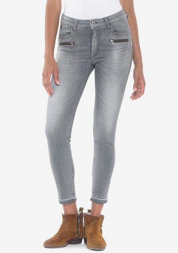 Le Temps Des Cerises Ankle-Jeans »PULPHIC DADO« mit Reißverschlusstaschen vorne