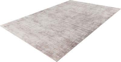 Teppich »Premium 500«, LALEE, rechteckig, Höhe 15 mm, Viskose mit Seiden-Optik, Wohnzimmer