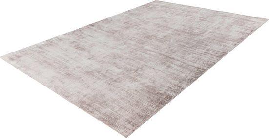 Teppich »Premium 500«, LALEE, rechteckig, Höhe 15 mm, Viskose mit Seiden-Optik