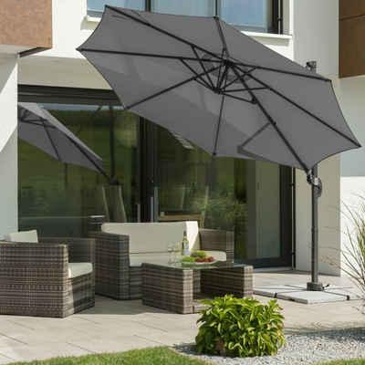 Schneider Schirme Ampelschirm »Rhodos Junior«, mit Schutzhülle, ohne Wegeplatten