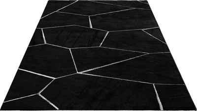 Teppich »Waben«, Guido Maria Kretschmer Home&Living, rechteckig, Höhe 12 mm, weiche Haptik