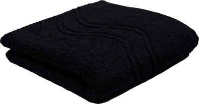 ROSS Handtuch »Cashmere« (2-St), mit Wellenbordüre