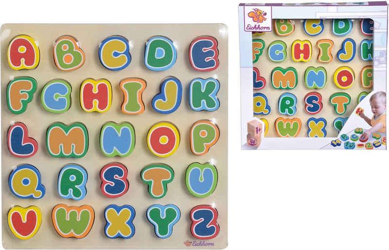 Eichhorn Spielbausteine »Buchstaben«, (26 St)