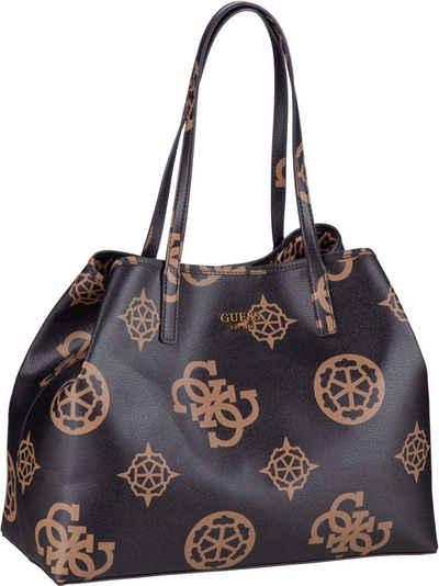 Guess Handtasche »Vikky Large Tote Maxi Logo«, Shopper