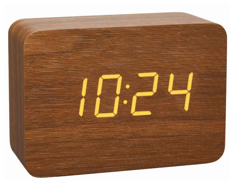 TFA Dostmann Funkwecker »Design Funk-Wecker in Holz-Optik CLOCCO 60.2549«