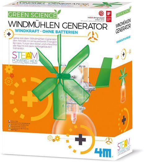 4M Experimentierkasten »Green Science - Windmühlen Generator«