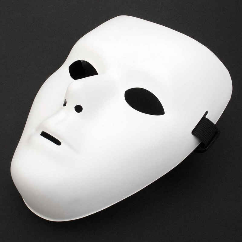 Goods+Gadgets Kostüm »Weiße Phantommaske«, Venezianische Faschingsmaske