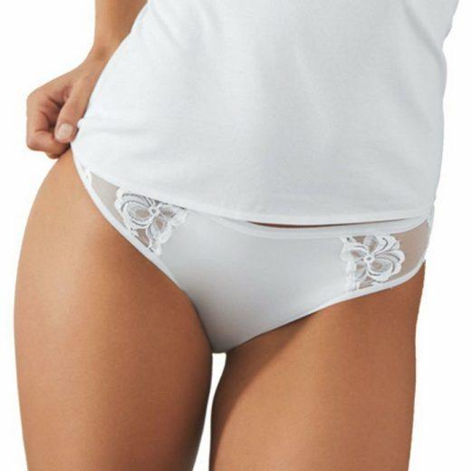 Nina Von C. Minislip »3er Pack Minislip« Mit Spitzen-Details, Perfekte Passform, Angenehm auf der Haut