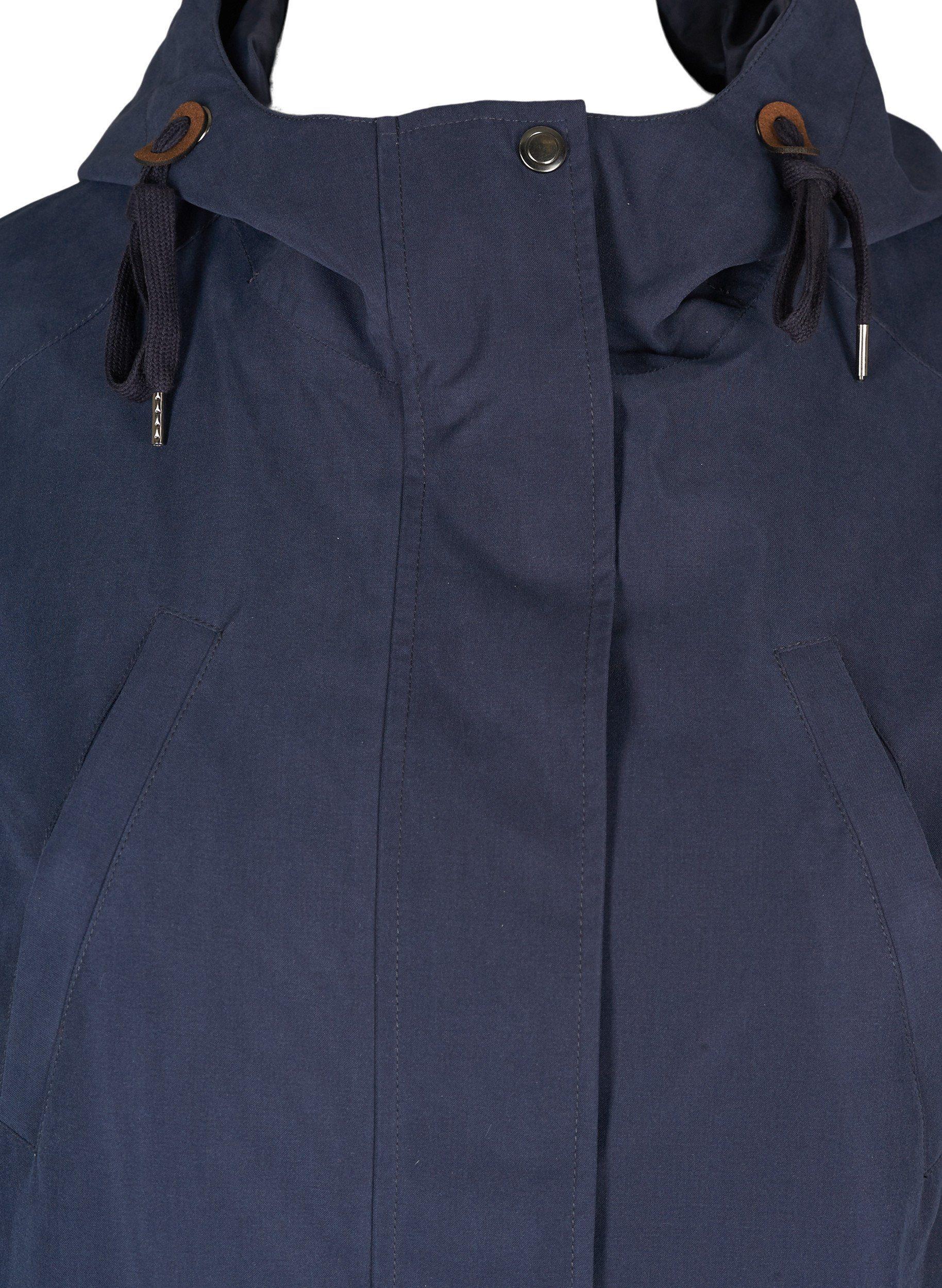 Zizzi Funktionsparka Große Größen Damen Atmungsaktive Wasserdichte Jacke Mit Kapuze Online Kaufen
