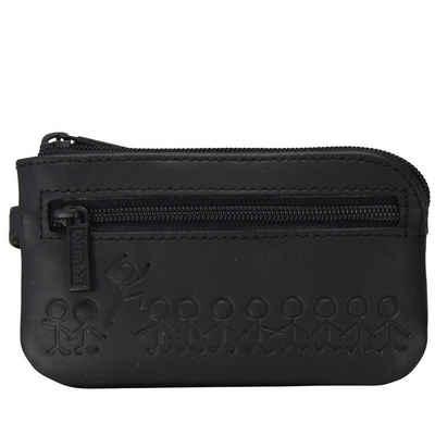 OXMOX Schlüsseltasche »Leather«, Leder