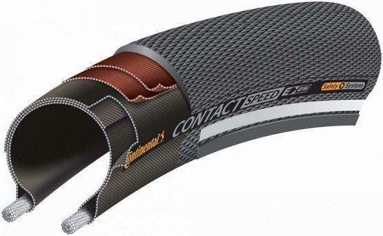 CONTINENTAL Fahrradreifen »Reifen Conti Contact Speed Reflex 27.5x2.00' 50-58«