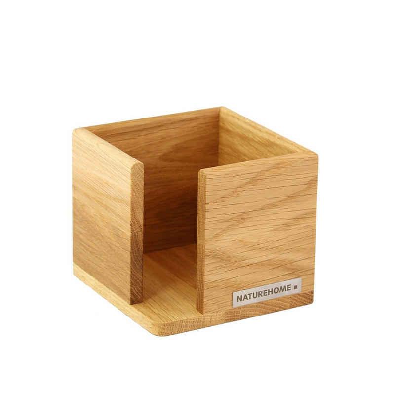 NATUREHOME Zettelkasten »CLASSIC Zettelbox 11,5 x 11,5 x 9,5 cm, div. Holza«