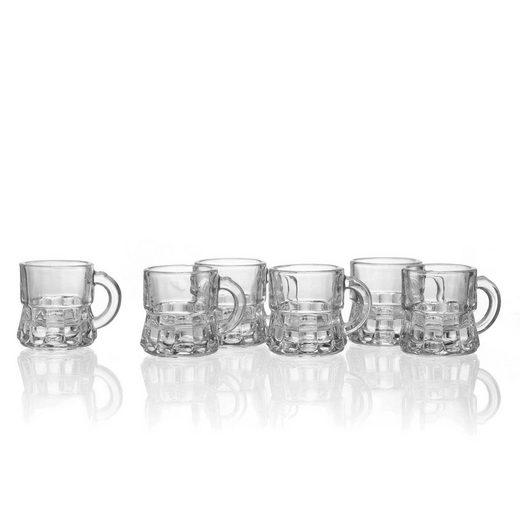 Ritzenhoff & Breker Schnapsglas »SNAP Henkelstamper 15 ml 6er Set« (6-tlg)