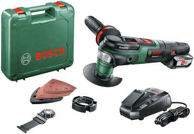 Bosch Powertools Akku-Multifunktionswerkzeug »AdvancedMulti 18«, 18 V, Set, mit Akku und Ladegerät